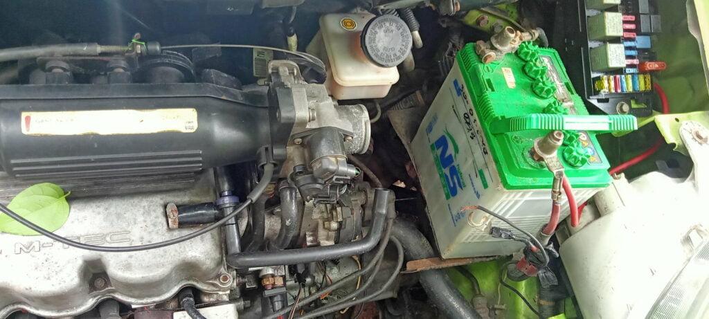 Aki Tekor, Tidak Bisa Starter Chevrolet Spark