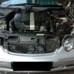 Service Mercedes Benz C240 W203 Ganti Busi, Bleeding Rem