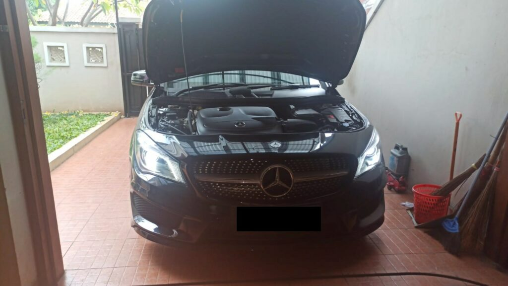 Service Mercedes Benz CLA200 Penggantian ABS Wheel Speed Sensor