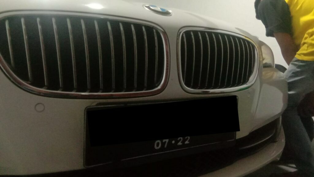 Service BMW 528i Tuneup, Ganti Kampas Rem