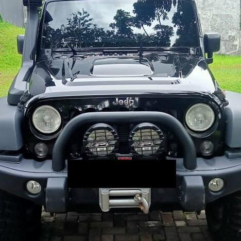 Service Jeep Wrangler Rubicon Cek Engine Nyala