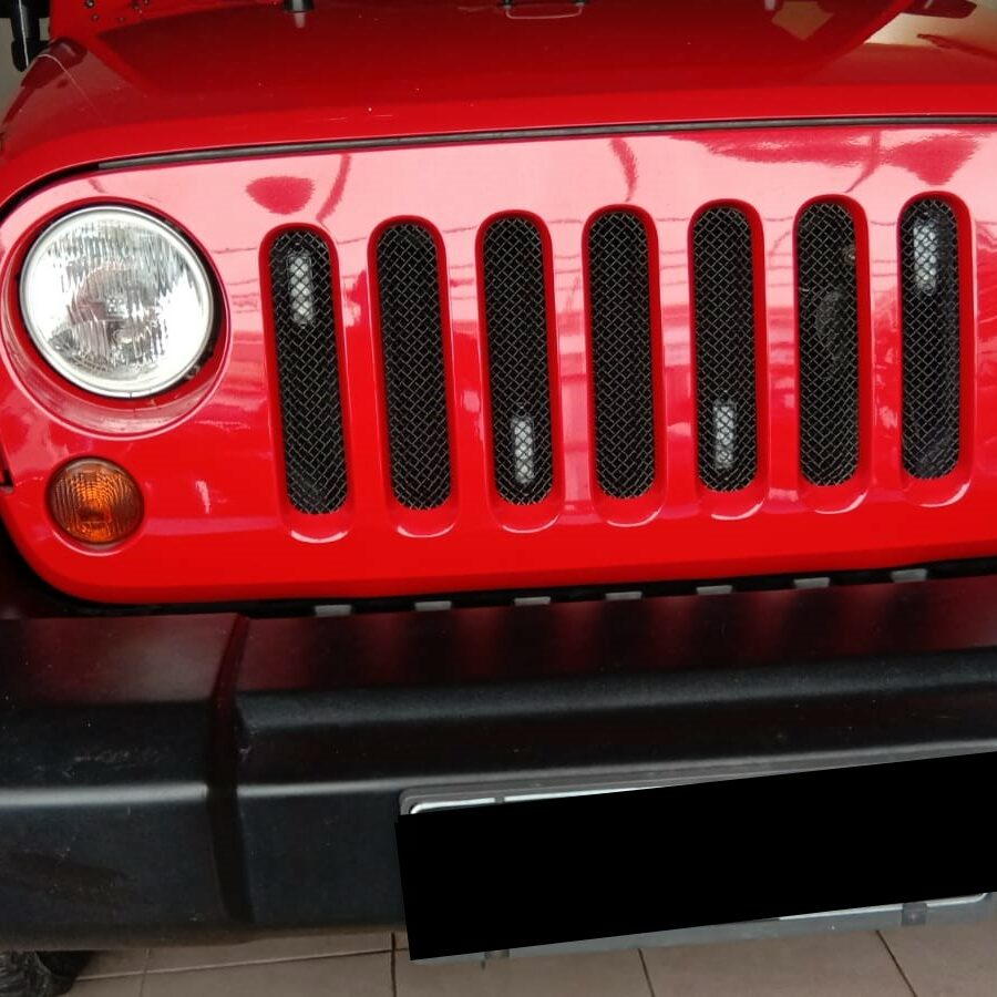 Jeep Wrangler Rubicon Maintenance Ganti Filter Dan Oli Mesin,
