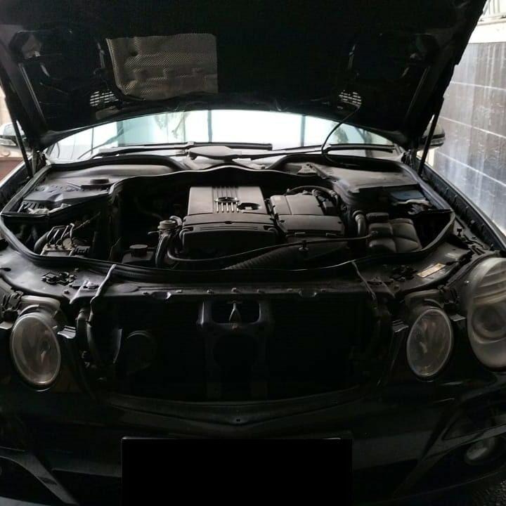 Ganti Oli Mesin Dan Filter Mercedes Benz E200 W211