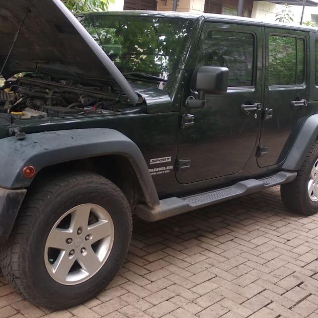 Service Jeep Wrangler Rubicon Lampu Indikator Abs Menyala
